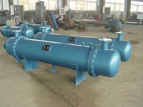 管壳式换热机组生产车间